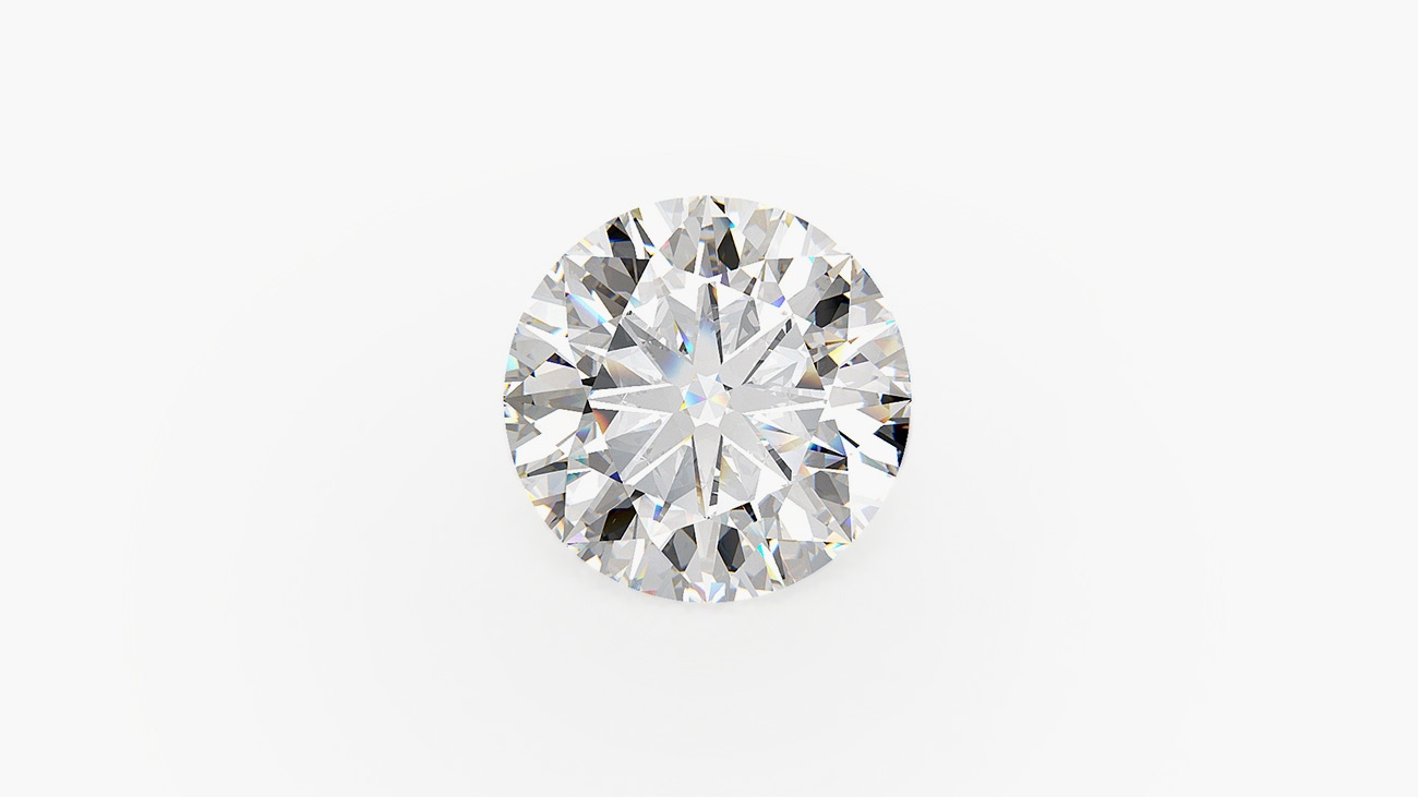 Brilliant round diamond