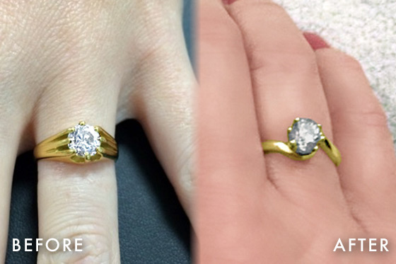 share diamond help redesigned wedding white in redesign gold our engagement we rings can upgrades restyle redesigns you tell want studio cedar to clients their process set with top the and choose how reasons